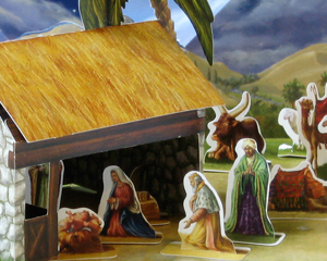 Create Your Own Nativity Advent Calendar