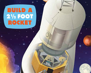 Slot together Rocket